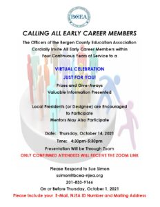 Early Career Members Virtual Celebration: Learn About Your Benefits & Win Prizes! Mentors You Can Attend, Too!