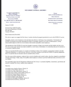 Bergen County Political Leaders Stand Up for Educators